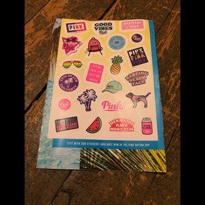 Brand new PINK Victoria's Secret stickers!